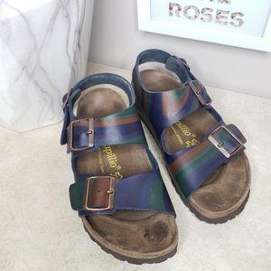 Birkenstock Papillio Arizona Swirl Sandals Sz 6